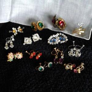 Jewelry - $20 pair *Vintage* Earrings (screw back)